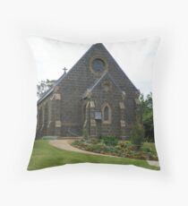 Millthorpe Anglican Church Throw Pillow