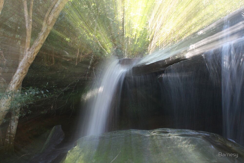 Somersby Falls 5 by Barnesy