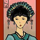 Asian Princess by elledeegee