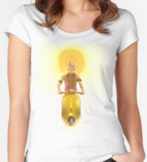 Hippie time Women's Fitted Scoop T-Shirt