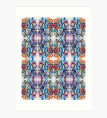Crystal Prism Reflecting Light Art Print