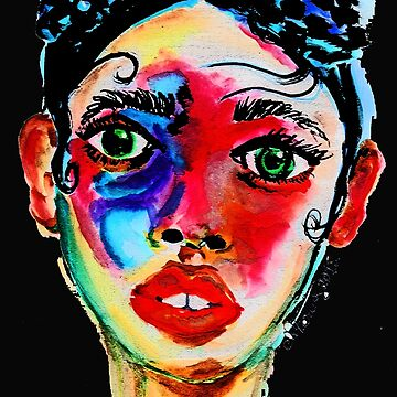 Painted Face by niamhkerins