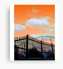Arching Canvas Print
