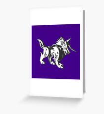 Steel beast Greeting Card