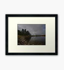 Butcher Lake Framed Print