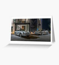 DB5 and DB11 Volante Greeting Card