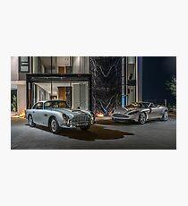 DB5 and DB11 Volante Photographic Print