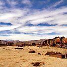 Ghost trains, Uyuni by Elaine Stevenson