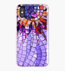 Star Flower Purple,  photography of shiny mosaic - JUSTART © iPhone Case