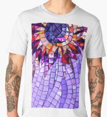 Star Flower Purple,  photography of shiny mosaic - JUSTART © Men's Premium T-Shirt