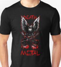 Death Metal - owl Unisex T-Shirt