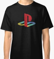 Playstation faded Classic T-Shirt