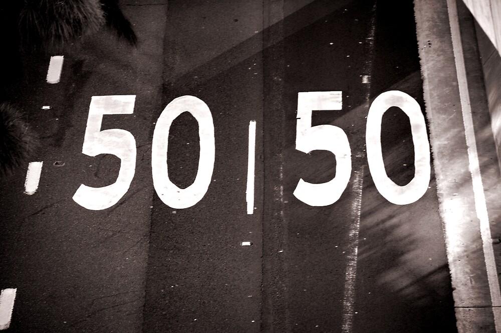 50/50 by Jonathan Dael