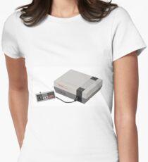 nintendo Women's Fitted T-Shirt