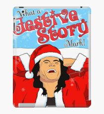 A Very Wiseau Christmas iPad Case/Skin