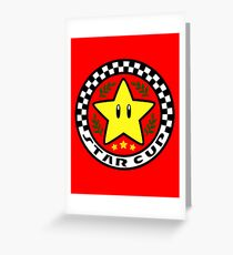 Star Cup Greeting Card