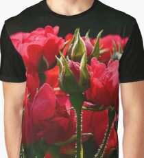 Bouquet of red roses Graphic T-Shirt