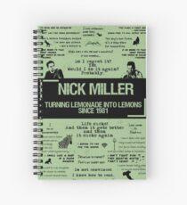 NICK MILLER Spiralblock