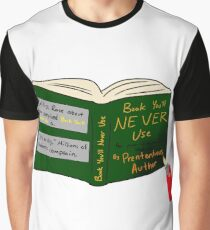 College Textbooks Graphic T-Shirt
