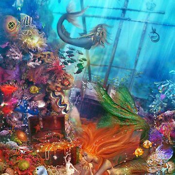 The Mermaid's Treasure by Foxfires