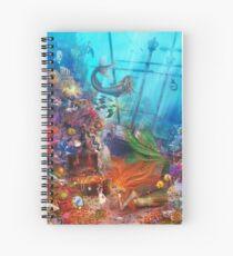 The Mermaid's Treasure Spiral Notebook