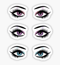 Fantasy eyes 3 Sticker