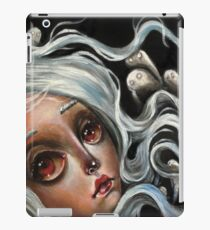 White Spirits :: Pop Surrealism Painting iPad Case/Skin