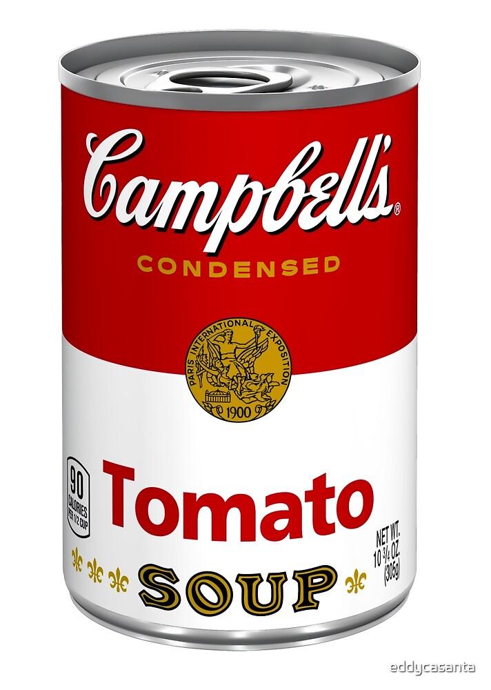 Campbells soup real photo realistic sticker by eddycasanta