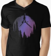 Midnight Lost Space shuttle T-Shirt