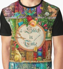 A Stitch In Time Graphic T-Shirt