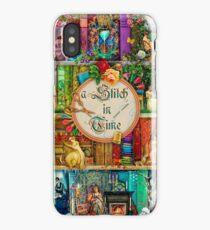 A Stitch In Time iPhone Case/Skin