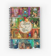 A Stitch In Time Spiral Notebook
