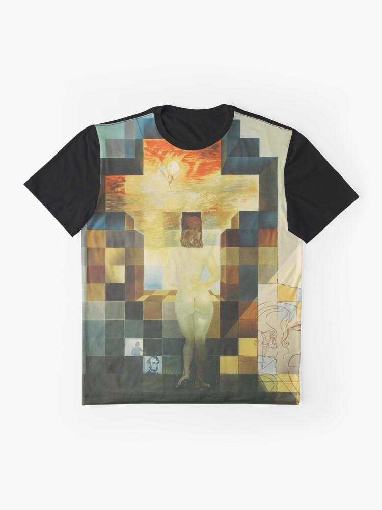 Alternative Ansicht von Lincoln in Dalivision - Salvador Dalí Grafik T-Shirt
