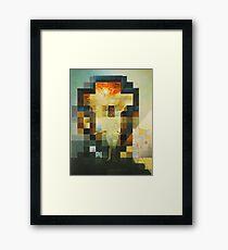 Lincoln in Dalivision- Salvador Dalí Framed Print