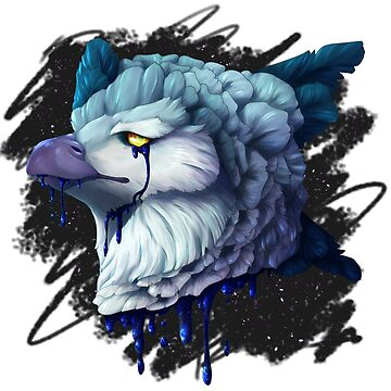 Blue Bleeding Harpy Eagle by TeddiBura