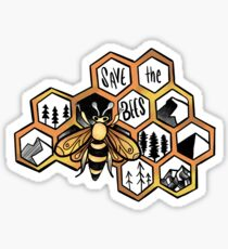 Save the Bees !! Sticker