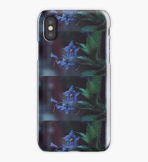 Flowers photography dark rain iPhone Case/Skin