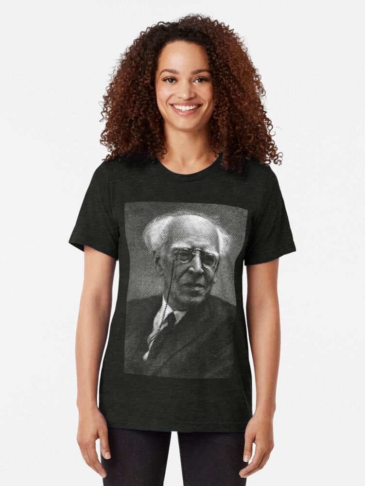 Alternate view of Constantin Stanislavski Tri-blend T-Shirt