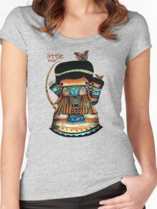 Little Bear TShirt Women's Fitted Scoop T-Shirt