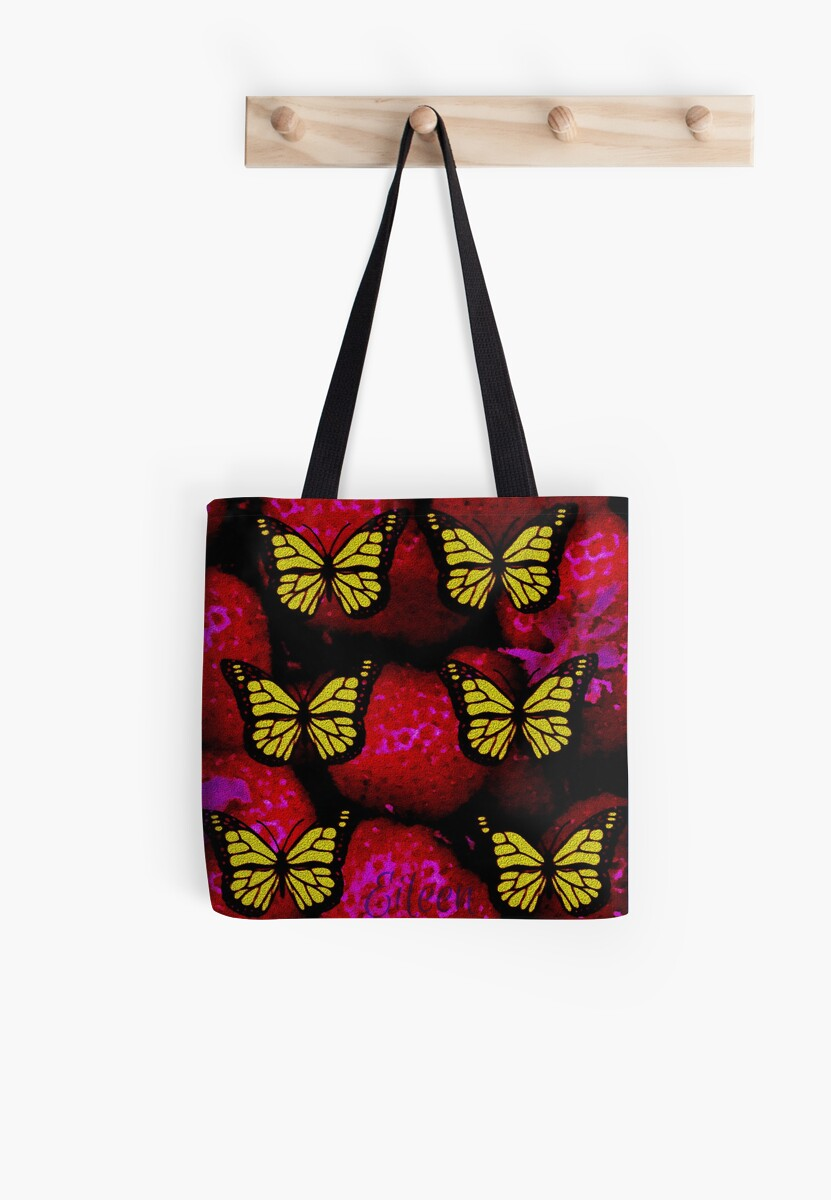 strawberry butterfly by Gouldo