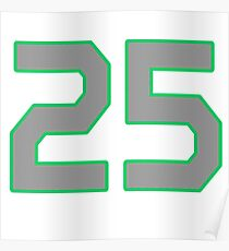 SEATTLE T-SHIRT ALL PRO #25 Poster