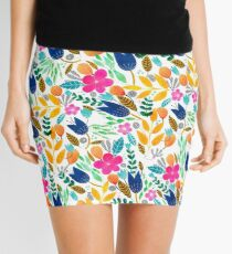 Flower Mayhem Mini Skirt