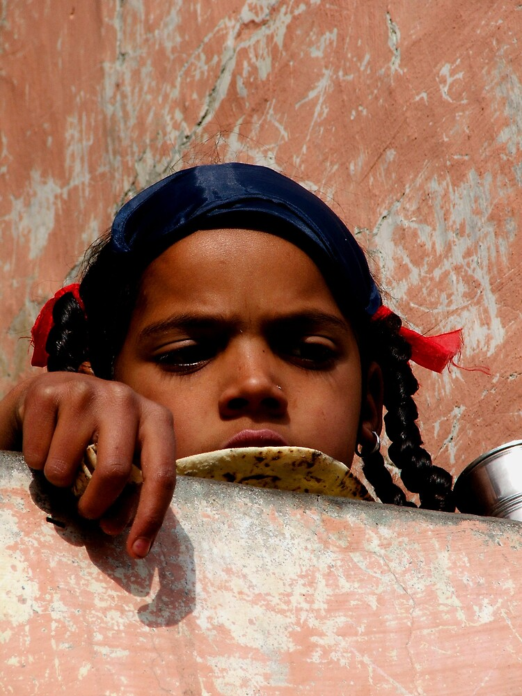 Girl with Roti by Michelle Walsh