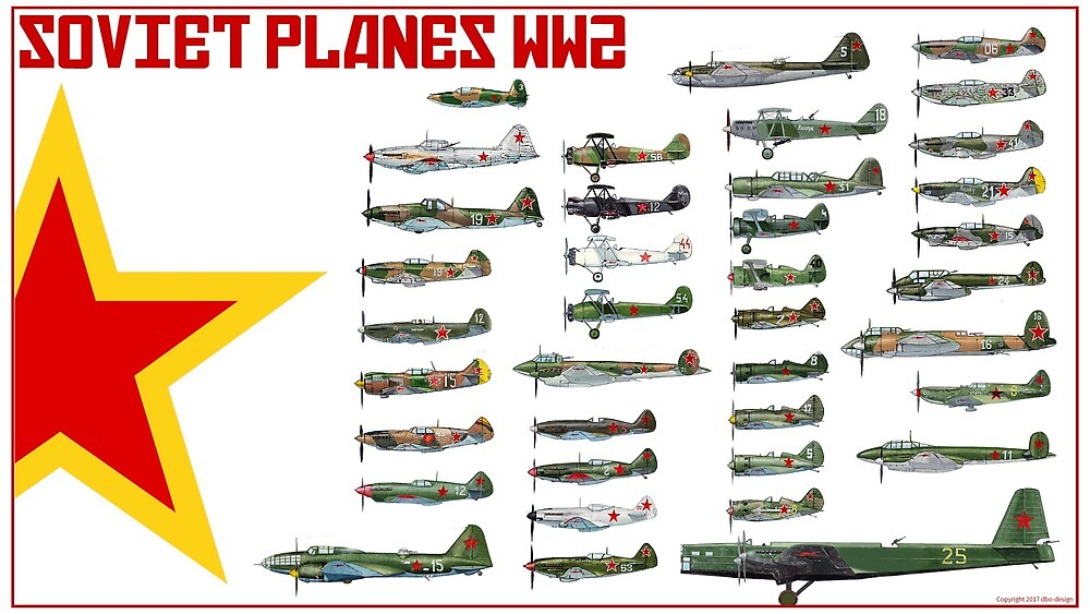 WW2 Soviet Aviation by TheCollectioner