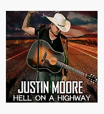 justin moore hell on highway 2018 anakan Photographic Print