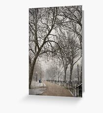 DC Winter Greeting Card