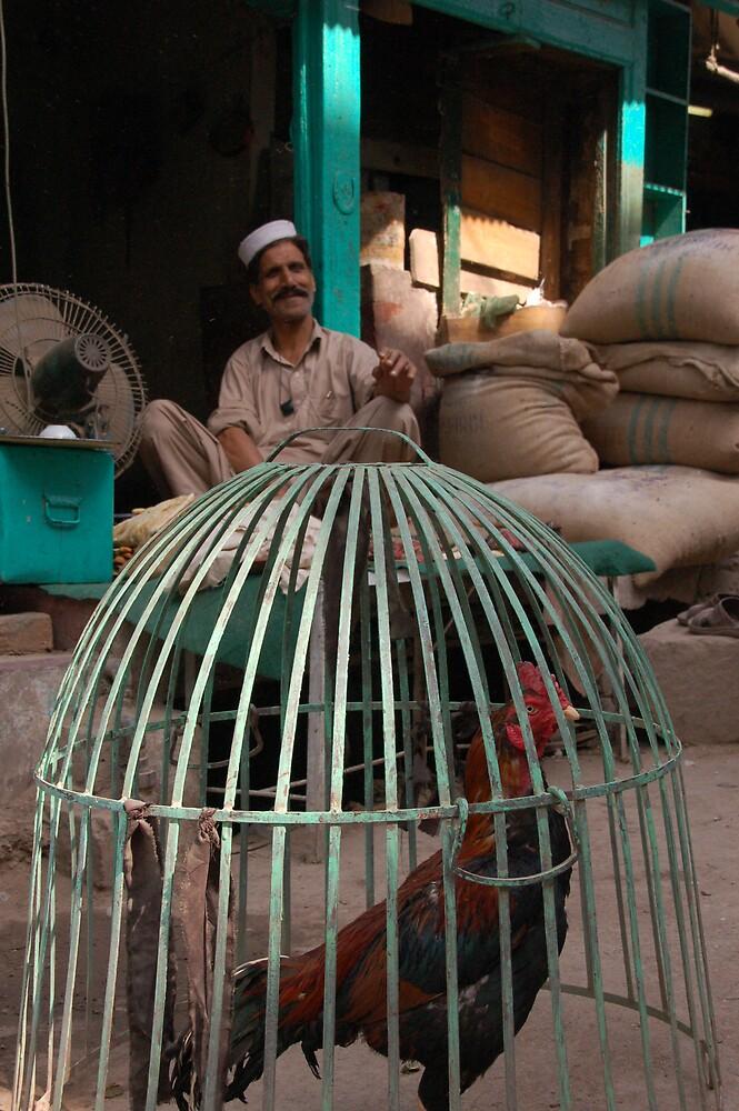 The shopkeeper, Pakistan by Peter Gostelow