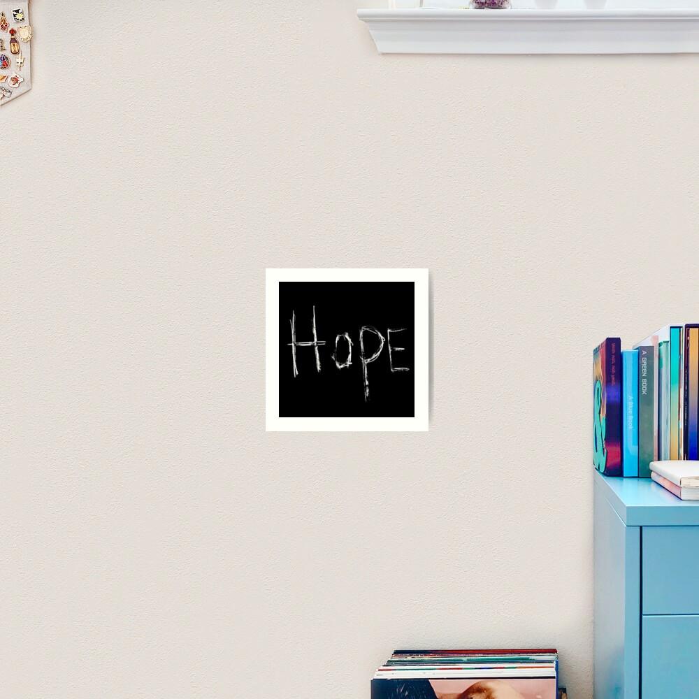 Hope Godspeed You Black Emperor Art Print