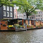 More houseboats in Amsterdam by julie08