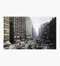 Historical cityscape Photographic Print